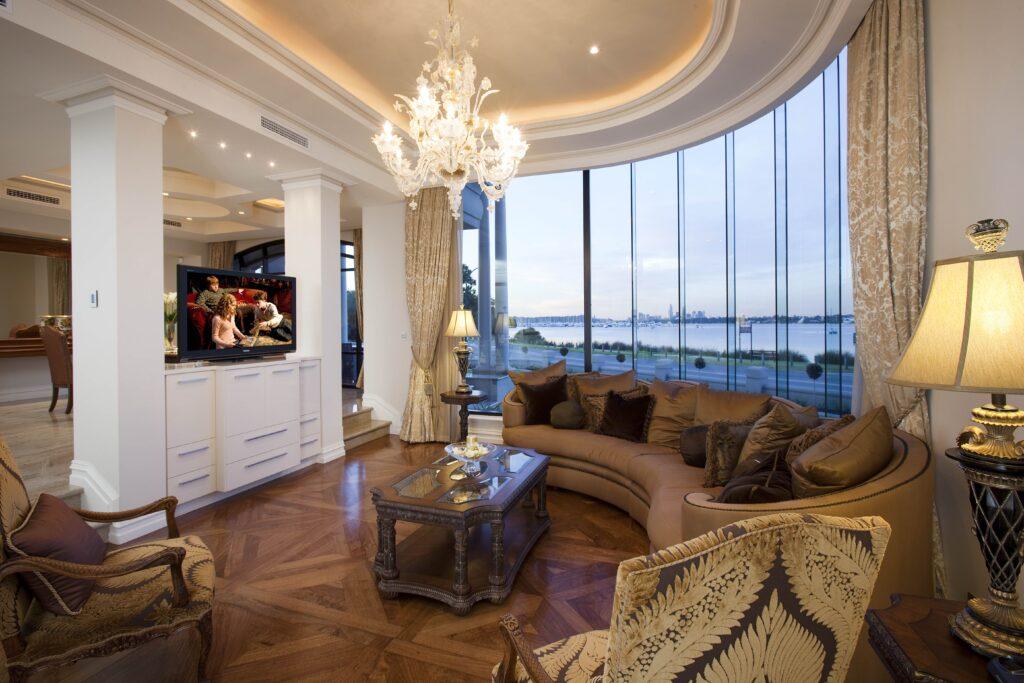 Applecross Residence - Living Room