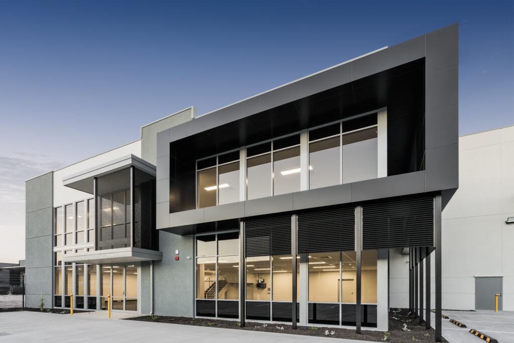 Enterprise Court - Facade