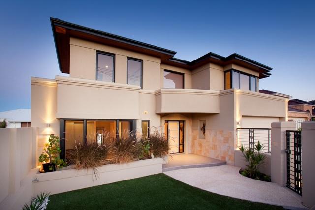 Salter Point Custom Built Home - Facade