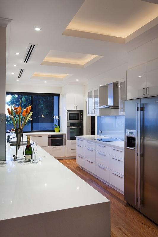 Salter Point Custom Built - Kitchen