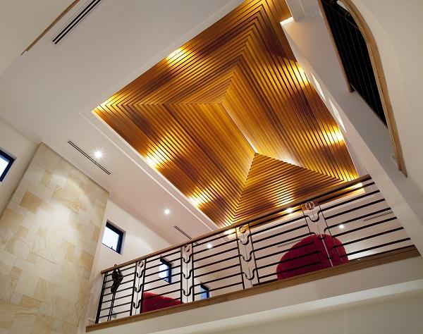 Sater Point Custom Built - Main Ornate Ceiling